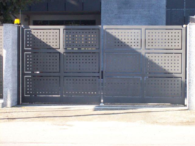 Cancello in ferro Lavorato