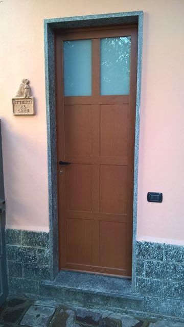 Porta Blindata Alluminio e Vetro