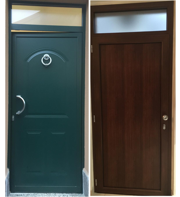 Portoncino Blindato finiture diverse interno - esterno